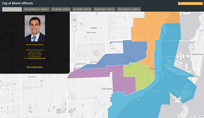 City of Miami WebGIS